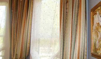 Custom drapery panels