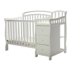 DOM Family   Dream On Me Casco 4 In 1 Mini Crib And Changing