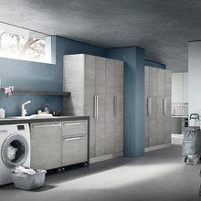 La lavanderia.
