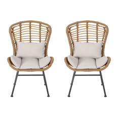 50 Most Popular Wicker Rattan Outdoor Dining Chairs For 2021 Houzz