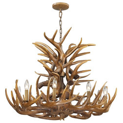 Rustic Chandeliers by Buildcom