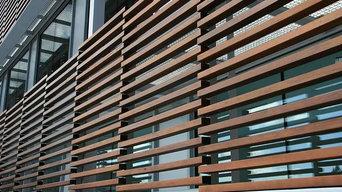 Protección solar ventanas - Hospital San Bernabé