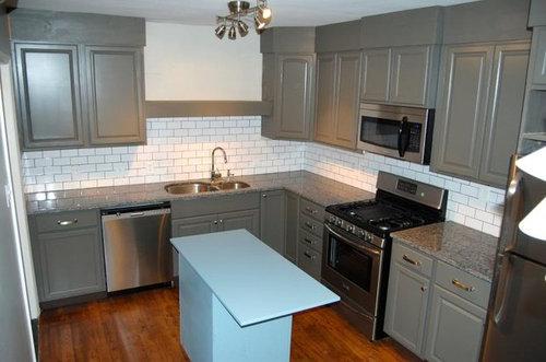 Update on the $5k duplex kitchen renovation