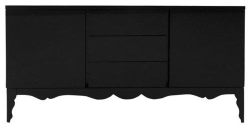 Elegant Donatela Dresser Black   Products