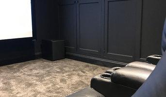 Hampshire Dedicated Cinema room