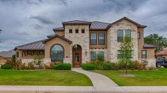 Custom Japhet Builders home in Texas