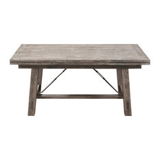 Patel Dining Table, Charcoal Gray