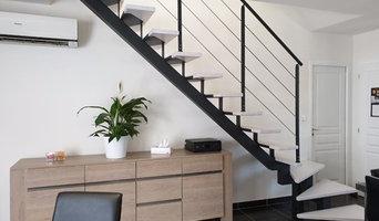 Escalier Gamme C Design Métal