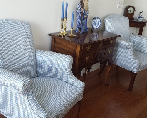 Upholstered Chairs - Pair - Upholstered Benches