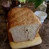 Crack in rye bread