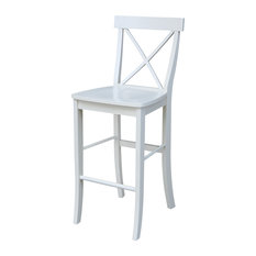 concepts xback bar height stool linen white bar stools and