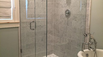 full panel frameless shower