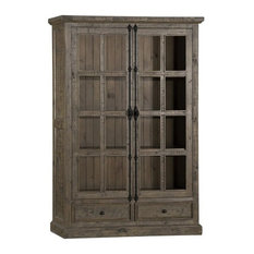 Hillsdale Furniture   Tuscan Retreat Double Door Cabinet, 5845 1074W   China  Cabinets And