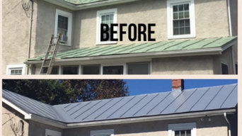 Metal Roof Refinishing