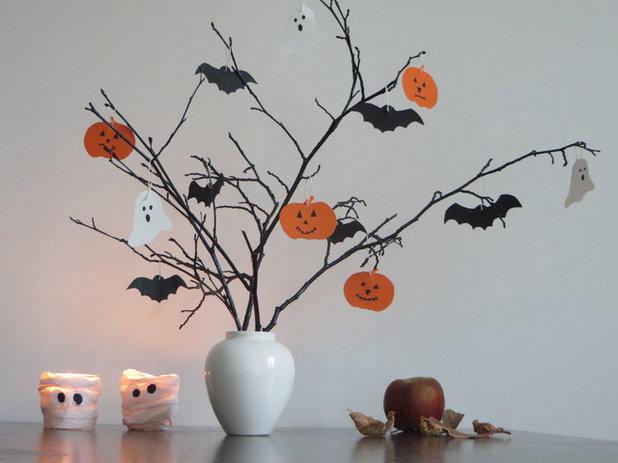 diy une d co facile r aliser en famille pour halloween. Black Bedroom Furniture Sets. Home Design Ideas