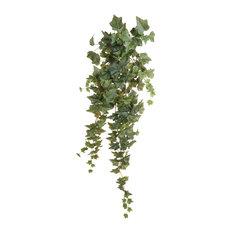 Emerald 11.958 Artificial Hanging Ivy Bush, Green