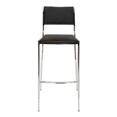 Mitchell Black Counter Stool