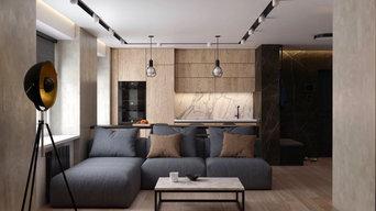 Дизайн проект квартиры 50 м