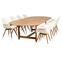 Midcentury Outdoor Dining Sets by Amazonia
