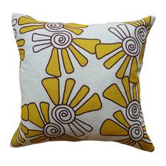 "Alex Mustard on Natural Throw Pillow, 16""x16"""