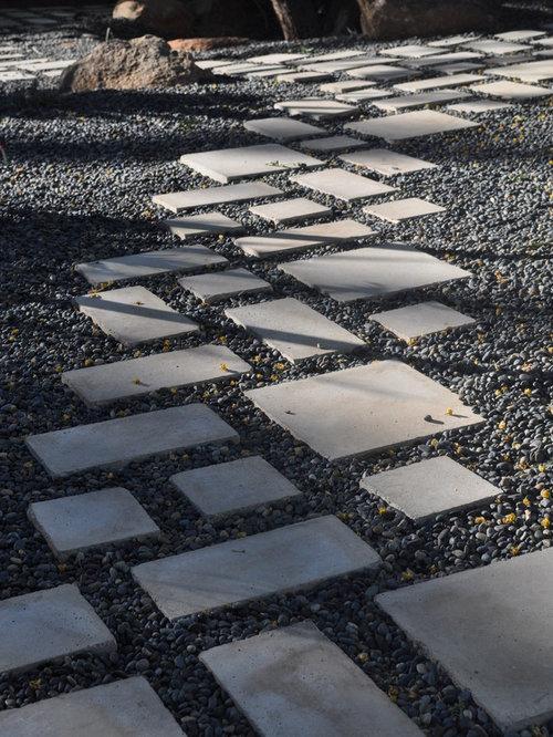 Rectangular Stepping Stones Houzz