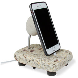 Contemporary Charging Stations by Sea Stones