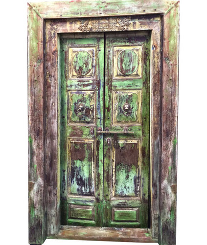 Indian Antique Interiors; Bohemian, eclectic, colourful - Interior Doors - Indian Antique Interiors; Bohemian, Eclectic, Colourful
