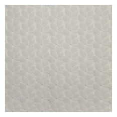 Clint Embroidered Upholstery Fabric, Ivory