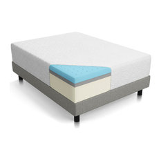 "Residence - Fantasy 14"" Triple Layer Memory Foam Mattress, King - Mattresses"