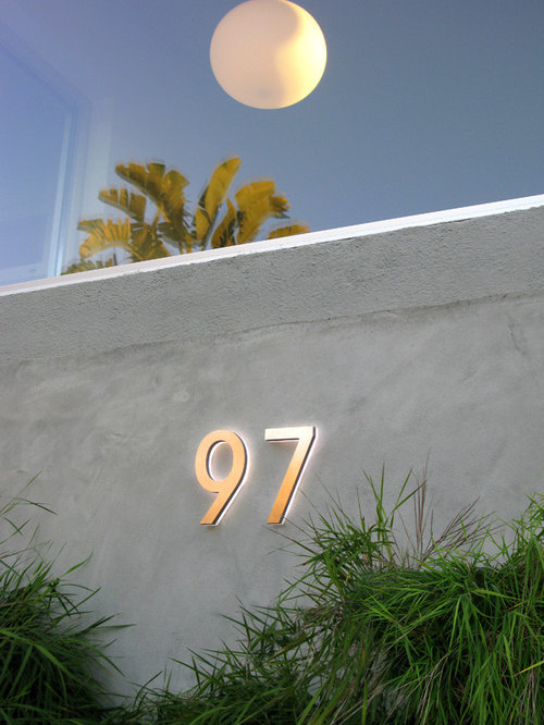 LED House Numbers Signage Apartment Number Signs