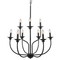 Traditional Chandeliers by LNC