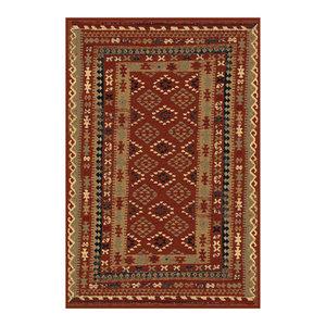 Keshan Supreme Arbil Rug, Red, 133x190 Cm