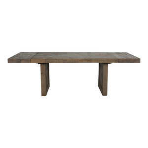 "Norman 95"" Reclaimed Pine Ext Dining Table by Kosas Home"