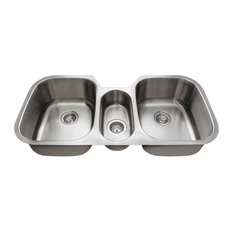 Best Stores To Buy 4521 Triple Bowl Stainless Steel Sink 16 Gauge By MR  Direct Sinks And Faucets   Kitchen Sinks Furniture In A Wide Variety Of  Styles.