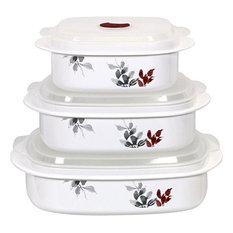 Reston Lloyd Kyoto Leaves Microwave Cookware Set