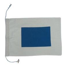 Letter S Cloth Nautical Alphabet Flag Decoration, 20''