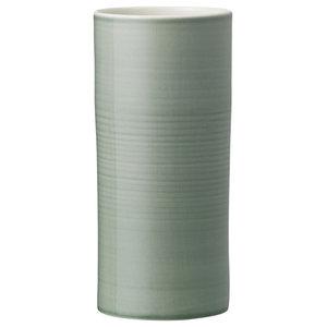 Anne Black Bloom Vase, Jade, Small