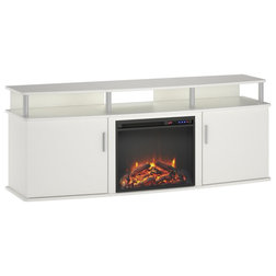 Contemporary Entertainment Centers And Tv Stands by Dorel Home Furnishings, Inc.