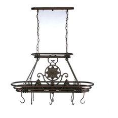 Kenroy Home 90304GC, Dorada Pot Rack, Gilded Copper