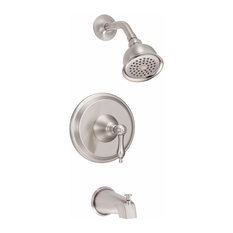 Danze D510040T Pressure Balanced Tub and Shower Trim Package with Single Functi