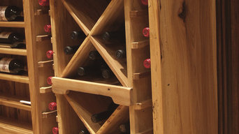 French country wine cellar and theater