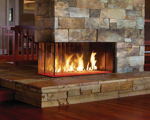 DaVinci by Travis Industries - DaVinci Custom Fireplace - Pier - Indoor Fireplaces