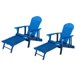 Contemporary Adirondack Chairs by GDFStudio