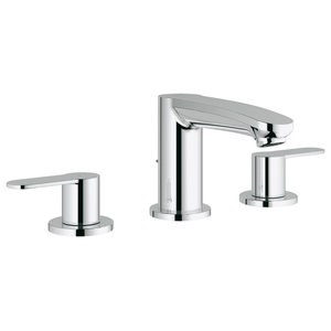 Grohe Eurostyle Cosmopolitan Small Faucet With Fixed Spout, StarLight Chrome