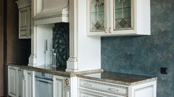 Кухня с итальянскими фасадами Ника д'Оро белая