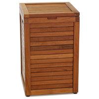 The Original Nila™ Medium Size Teak Laundry or Storage Hamper