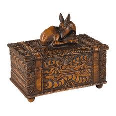 Carved Deer Box