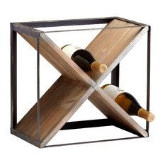 Cyan Designs 04859 Cube Wine Holder