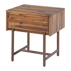 50 most popular rustic nightstands and bedside tables for 2018 houzz raw golconda wooden nightstand nightstands and bedside tables watchthetrailerfo