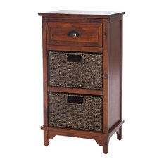 Libra Wooden Chest, 3 Drawers